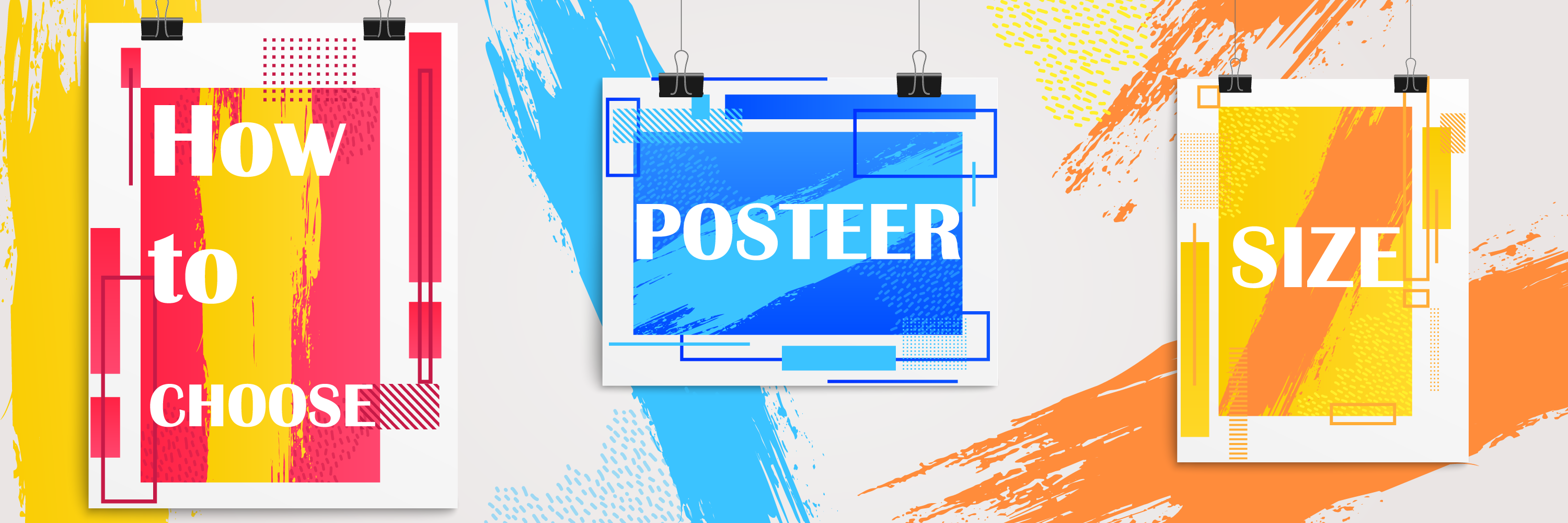 standard poster size