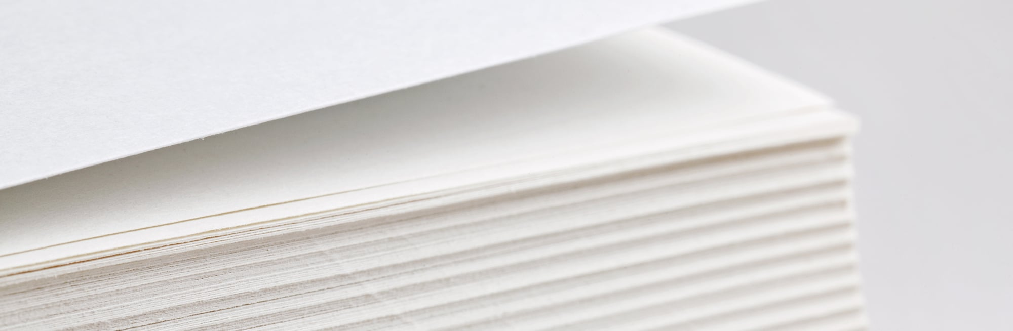 thickness of paper