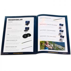 A4 product brochure printing