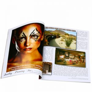 high quality fashion magazine printing