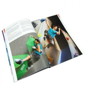 full color sports magazine printing