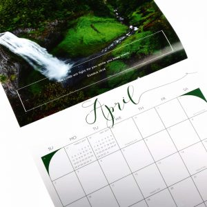 saddle stitch wall calendar printing China