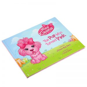 print hardcover child book
