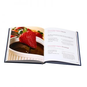 hardcover cookbook printing