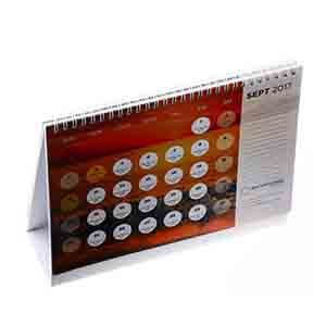 Desktop Calendar Printing in China
