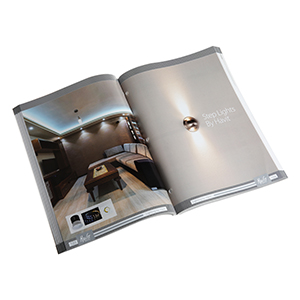 print lighting catalogue in China