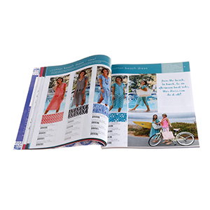 print clothing catalogue in China