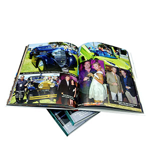 hardcover yearbook printing