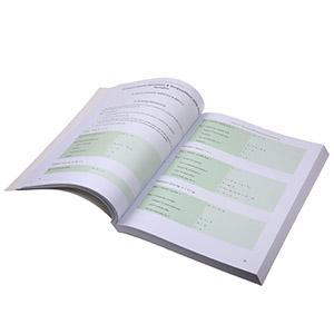 soft cover color book printing