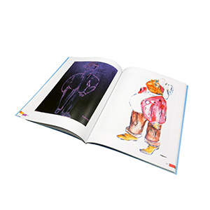 full color paperback book printing