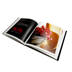 hardcover coffee table book printing