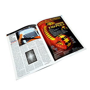 Full Color Advertising Magazine Printing