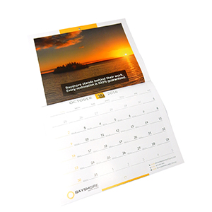 Full Color Wall calendar Printing