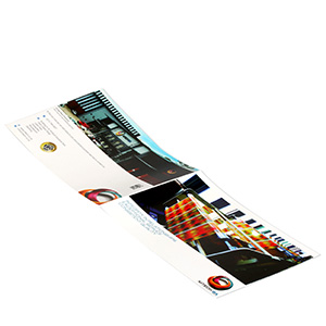 full color landscape brochure printing