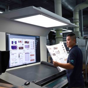 quality checking in printing process