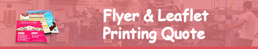 flyer printing quote