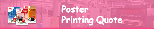 poster printing quote