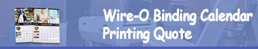 wire-o binding calendar printing quote