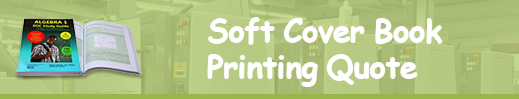 soft cover book printing quote
