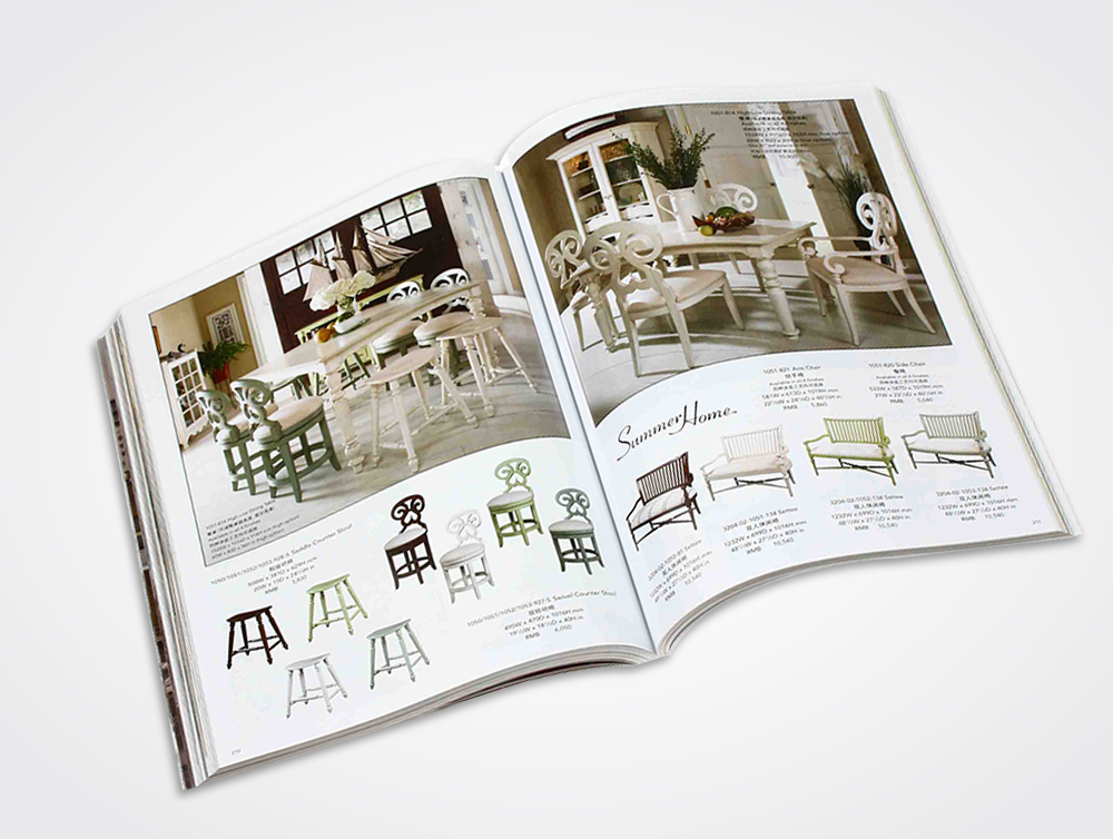 Furniture Catalog Printing
