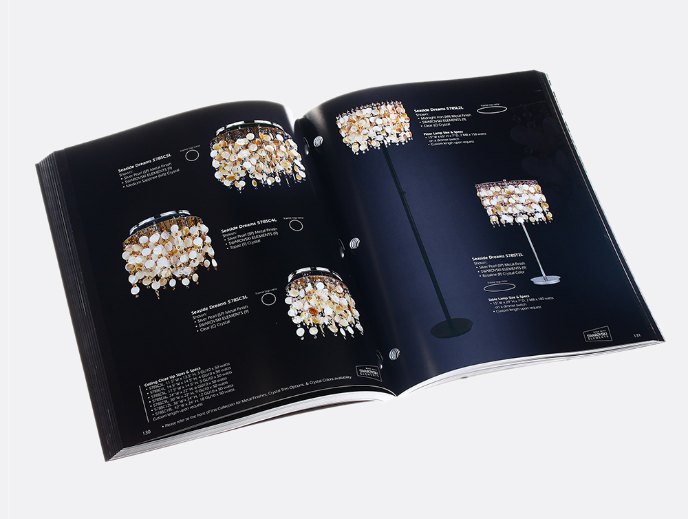 Lighting Catalog Printing