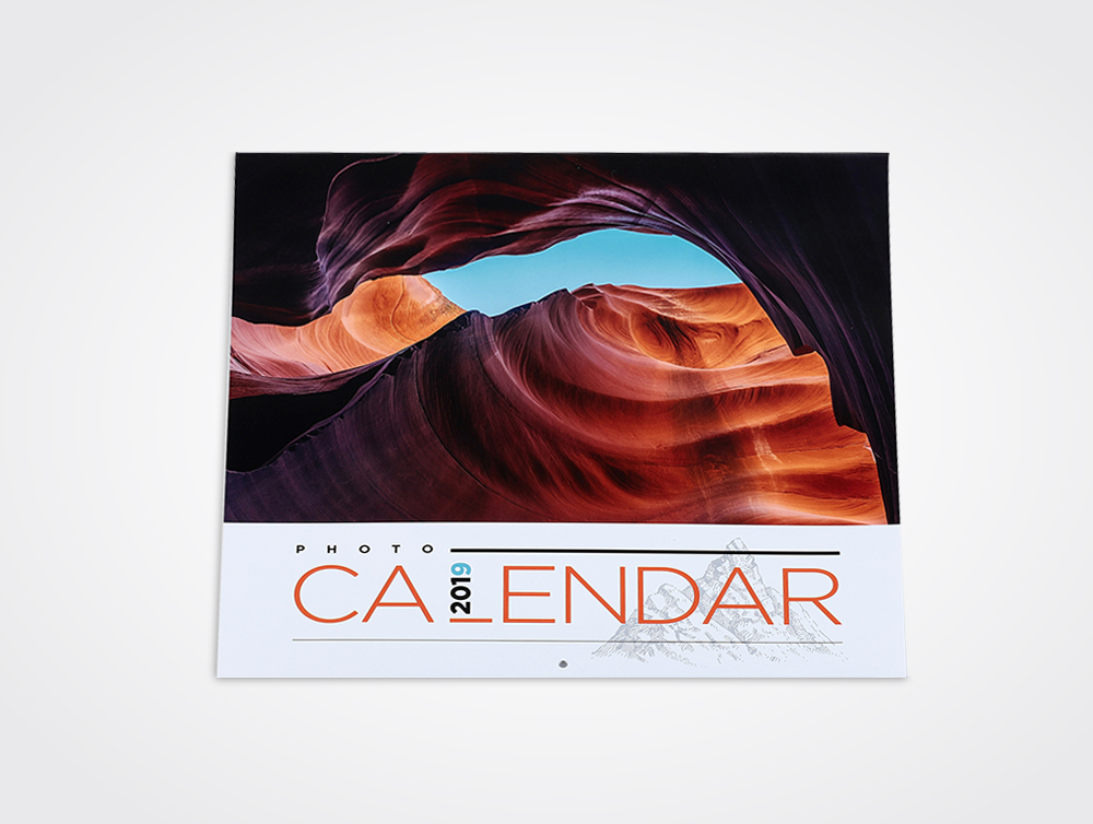 Saddle stitch wall calendars printing